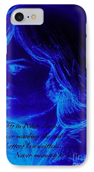 A Moody Blue IPhone Case