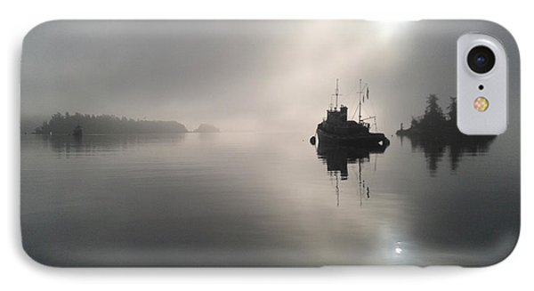 A Moody Morning IPhone Case by Mark Alan Perry