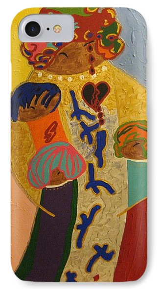 A Mother's Love Phone Case by Clarissa Burton