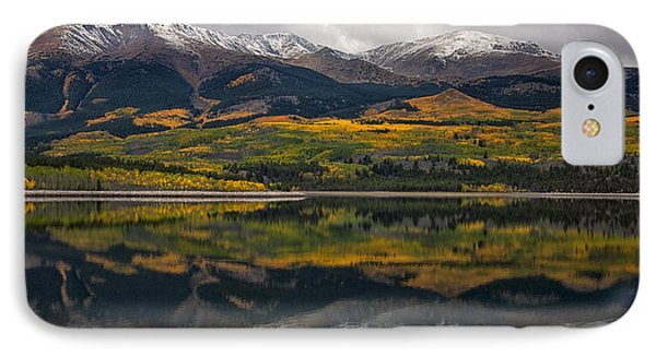 A Mt. Elbert Fall IPhone Case by Morris  McClung