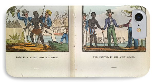 A Negro Being Abducted IPhone Case by British Library