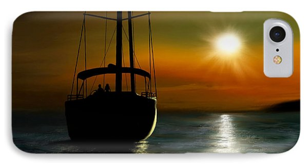 A New Beginning IPhone Case by Ron Grafe