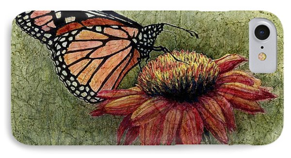 A New Creation From A Butterfly In My Garden IPhone Case by Janet King