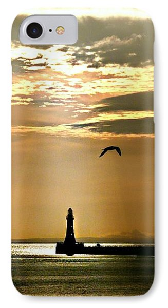 IPhone Case featuring the photograph Roker Pier Sunderland by Morag Bates