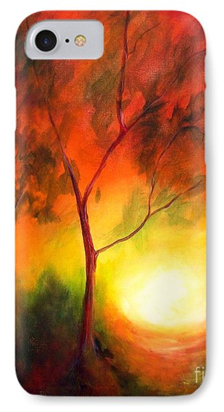 IPhone Case featuring the painting A New Day by Alison Caltrider