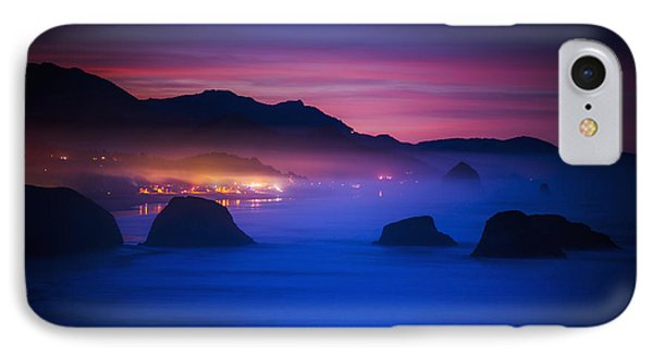 A New Day Begins On The West Coast IPhone Case by Robert L. Potts