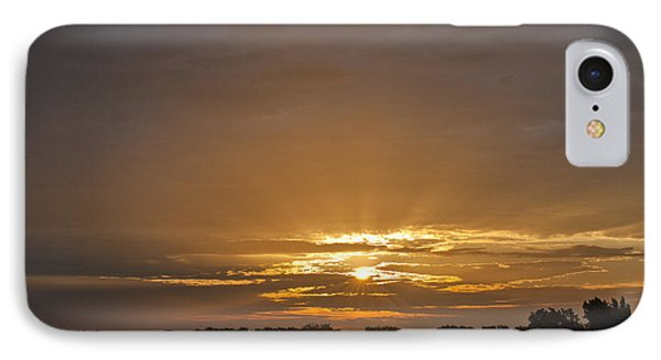 A New Day - Sunrise In Texas IPhone Case