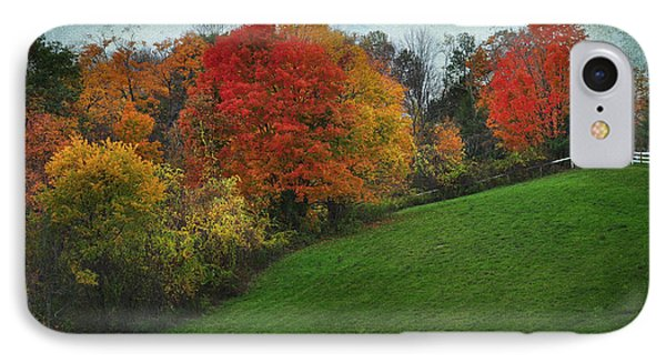 A New England Autumn IPhone Case