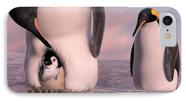 A New Family Is Born IPhone Case by Gary Hanna