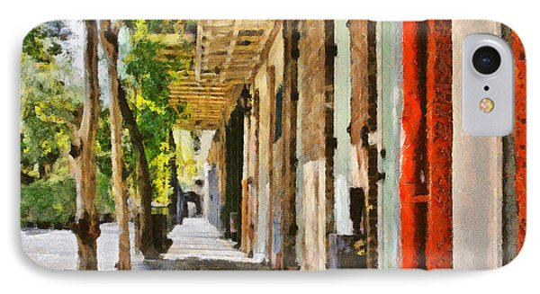 A New Orleans Alley IPhone Case by Christine Till