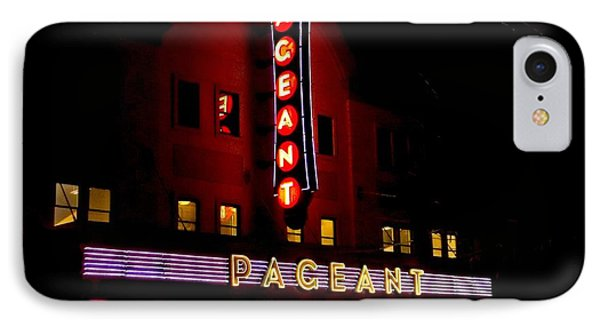 A Night At The Pageant IPhone Case by Kelly Awad