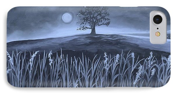 A Night At The Plains IPhone Case by Nereida Rodriguez
