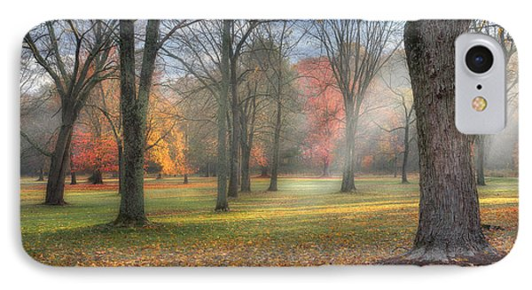 A November Morning Phone Case by Bill Wakeley