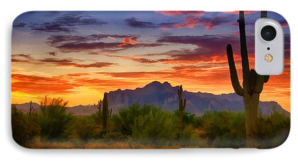A Painted Desert  IPhone Case
