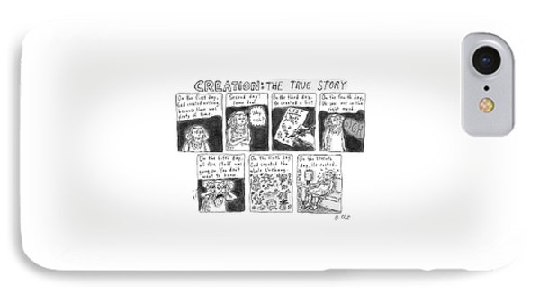 A Panel Called Creation: The True Story Which IPhone Case by Roz Chast