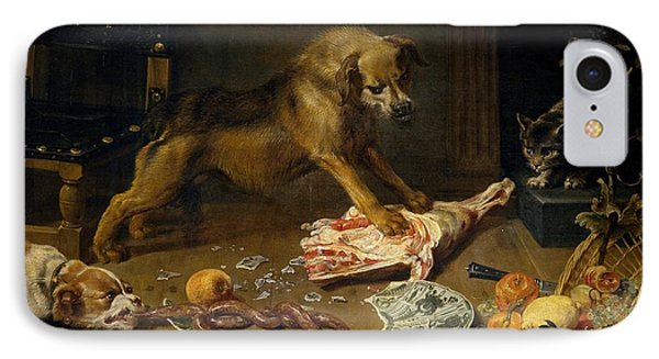A Pantry IPhone Case by Frans Snyders