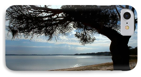 A Park With Tranquil Moments Phone Case by Debra Forand