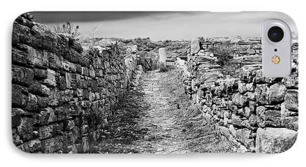 A Path To Delos Island IPhone Case by John Rizzuto