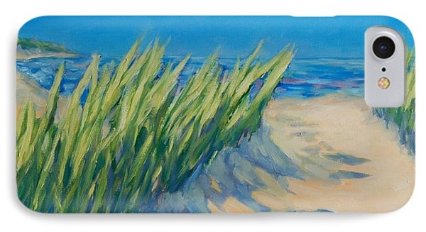 A Path To The Lake IPhone Case by Christi Dreese