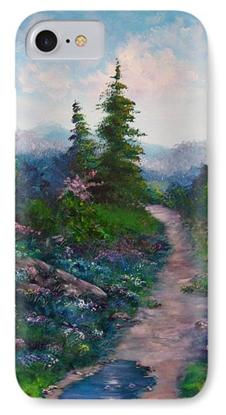 A Path Unknown IPhone Case by Megan Walsh
