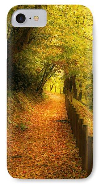 A Path Well Chosen IPhone Case by Tim Ernst