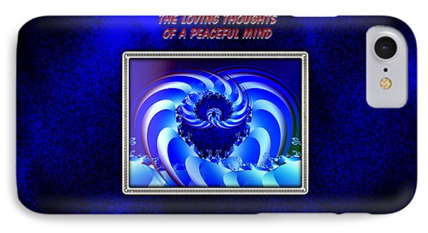 IPhone Case featuring the digital art A Peaceful Mind by Mario Carini