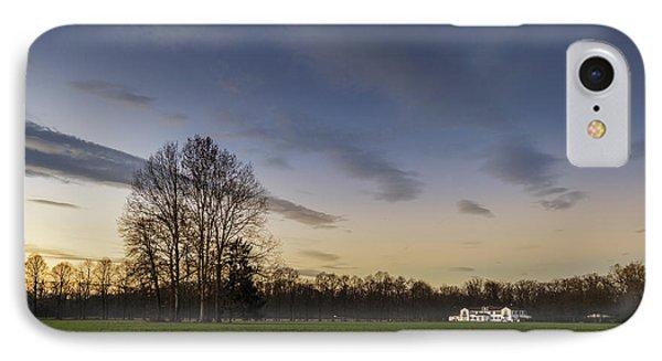 A Peaceful Sunset IPhone Case by Alfio Finocchiaro