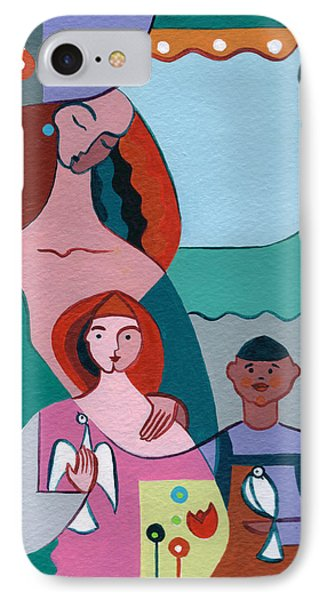 A Peaceful World For Our Children Phone Case by Elisabeta Hermann