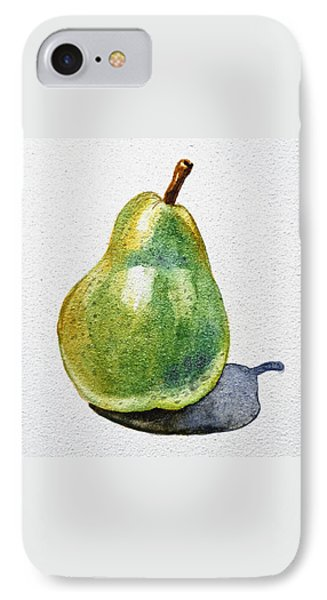A Pear Phone Case by Irina Sztukowski