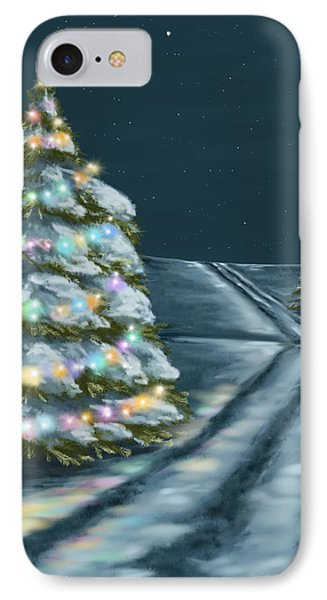 A Perfect Night IPhone Case by Veronica Minozzi