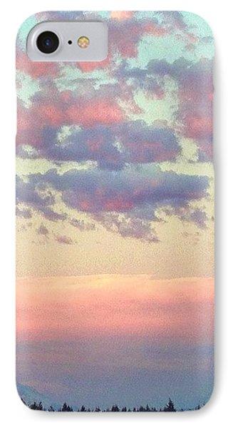 Summer Evening Under A Cotton IPhone Case by Blenda Studio