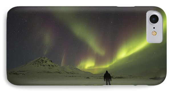A Person Stands On The Frozen IPhone Case