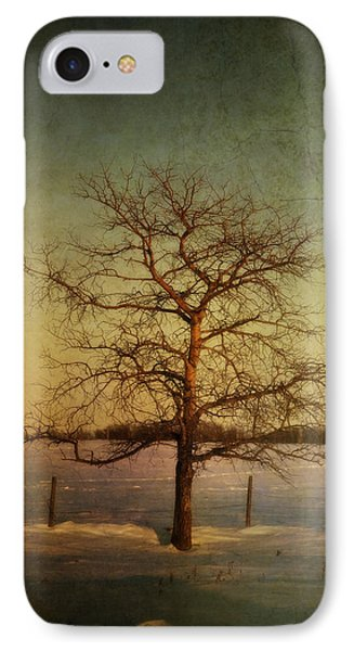 A Pictorialist Photograph Of A Lone Phone Case by Roberta Murray