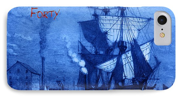 A Pirate Looks At Forty Phone Case by John Stephens