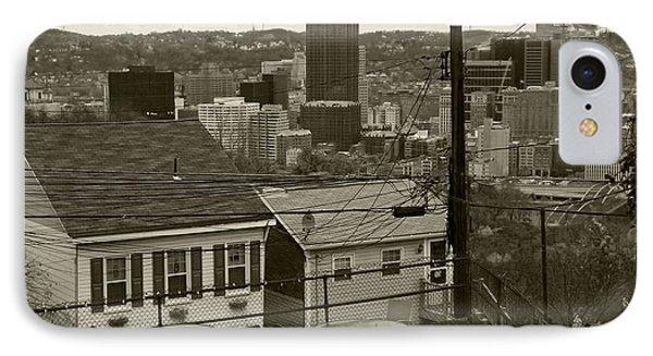 A Pittsburgh Backyard IPhone Case