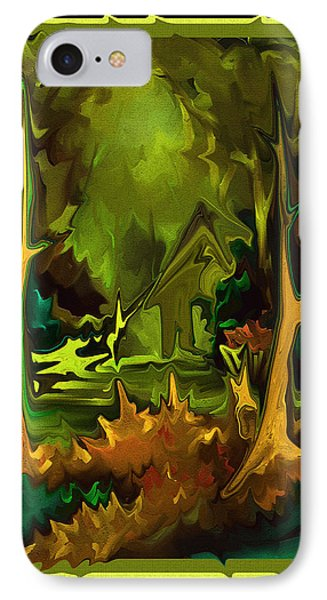 IPhone Case featuring the painting A Place To Go by Steven Lebron Langston