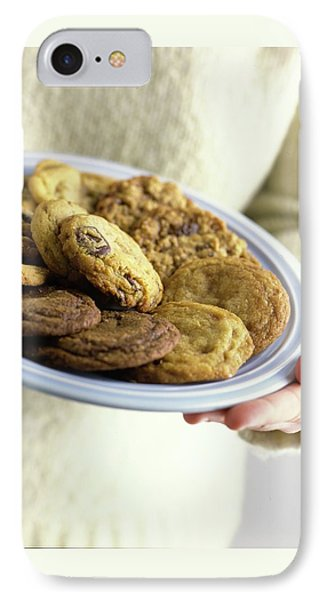 A Plate Of Cookies IPhone Case by Romulo Yanes