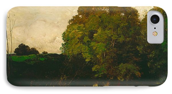 A Pond In The Morvan Phone Case by Charles Francois Daubigny