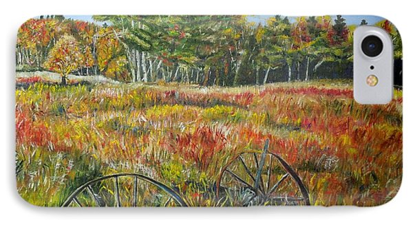 IPhone Case featuring the painting A Prairie Treasure by Marilyn  McNish