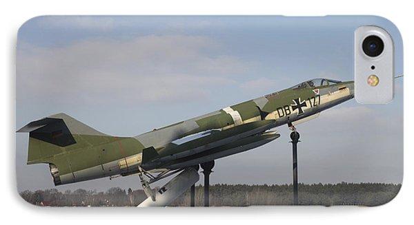 A Preserved F-104g Starfighter Phone Case by Timm Ziegenthaler