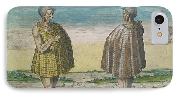A Priest Of Secoton IPhone Case by British Library