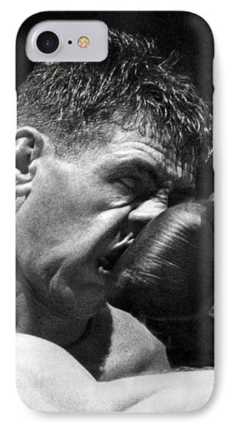 A Punch In The Nose IPhone Case by Underwood Archives