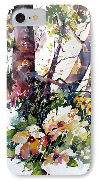 IPhone Case featuring the painting A Quiet Place by Rae Andrews