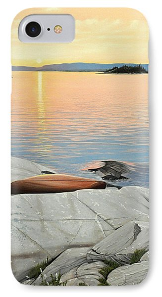 A Quiet Time IPhone Case by Kenneth M  Kirsch