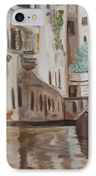 A Quiet Venice Canal IPhone Case