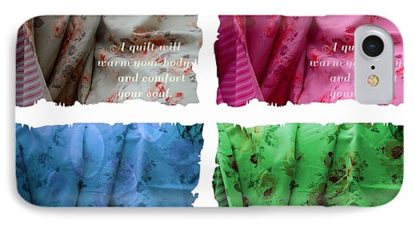 A Quilt Will Warm Your Body And Comfort Your Soul IPhone Case