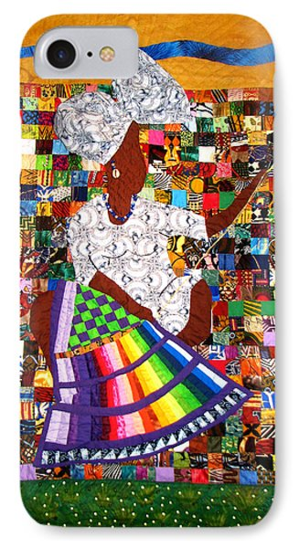 A Quilter's Dream Phone Case by Aisha Lumumba