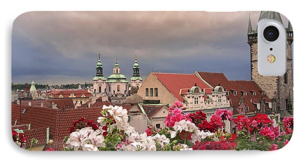 A Rainy Day In Prague 2 IPhone Case by Madeline Ellis