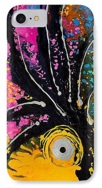 A Rare Bird - Tropical Parrot Art By Sharon Cummings IPhone 7 Case by Sharon Cummings