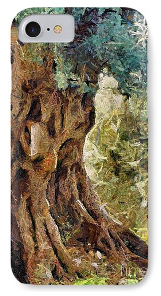 A Really Old Olive Tree IPhone Case by Dragica  Micki Fortuna